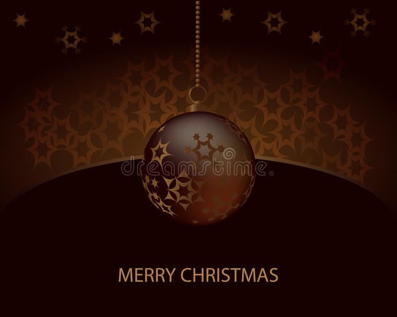 Σύμβολο καλής χρονιάς, εορτασμός διακοπών Χριστουγέννων, χειμώνας Επίπεδο σχέδιο για την κάρτα επίσης corel σύρετε το διάνυσμα απ διανυσματική απεικόνιση