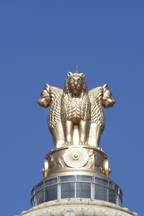 σύμβολο λιονταριών στοκ φωτογραφία με δικαίωμα ελεύθερης χρήσης
