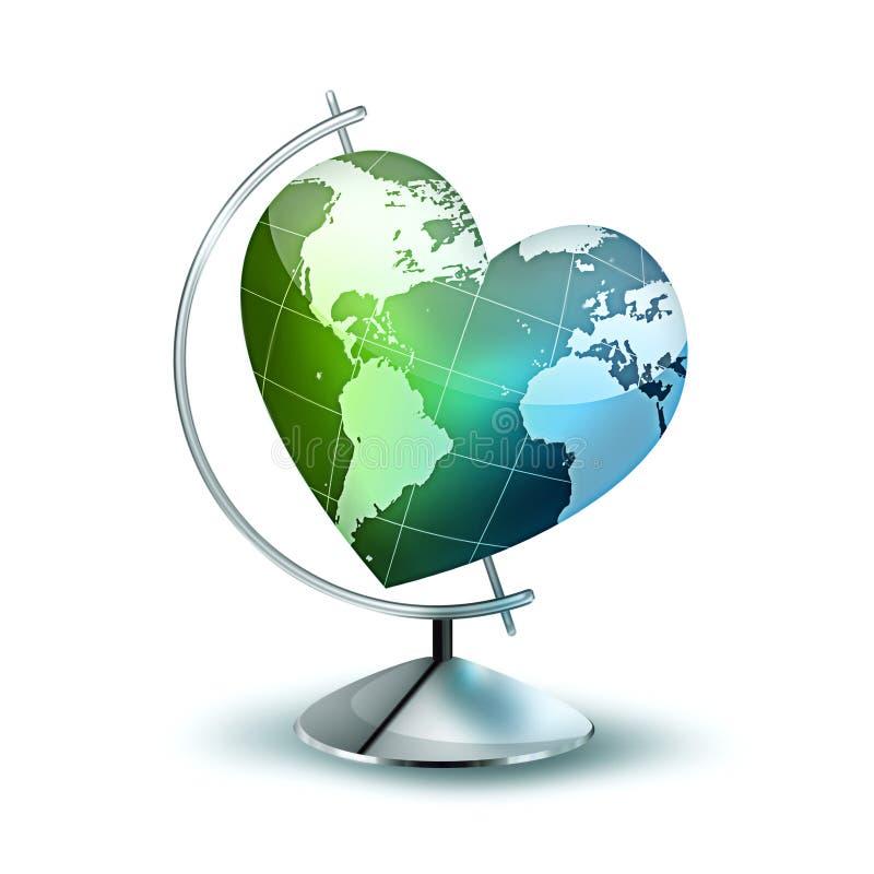 Σύμβολο περιβαλλοντικού απεικόνιση αποθεμάτων