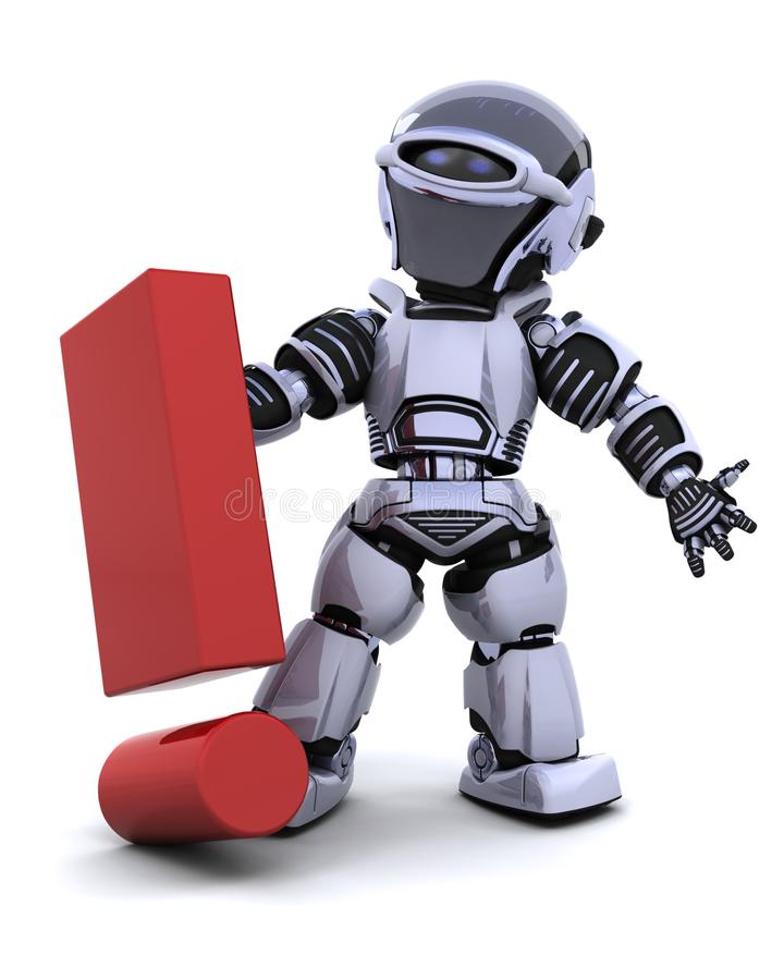 σύμβολο ρομπότ διανυσματική απεικόνιση