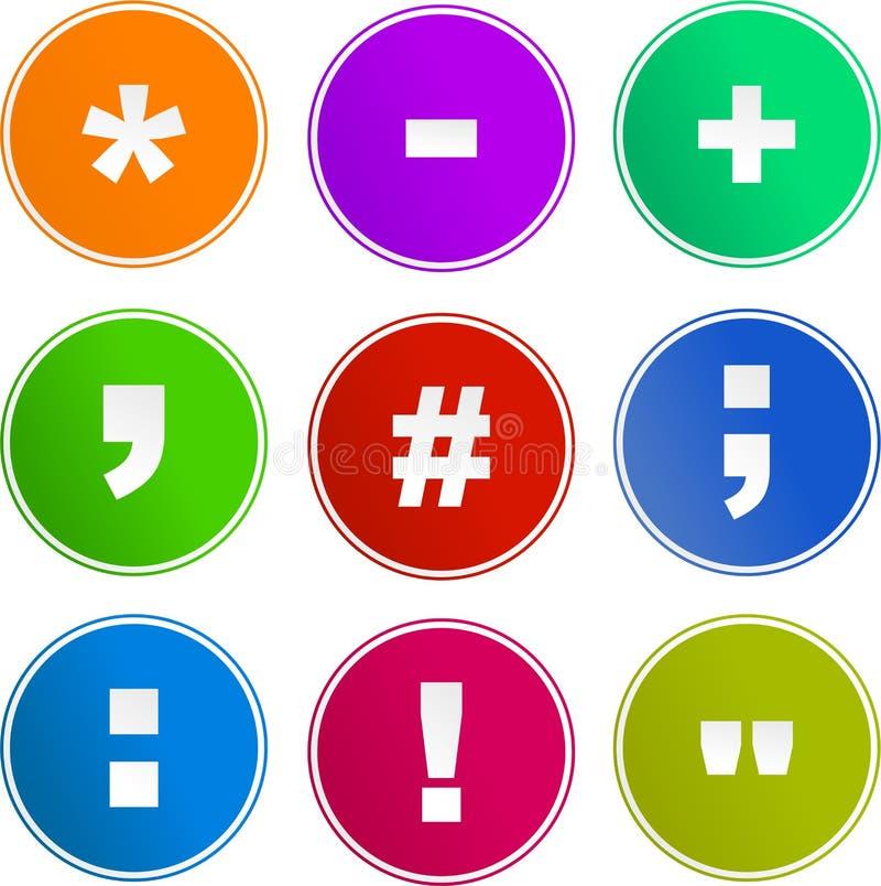 σύμβολο σημαδιών εικονι&d απεικόνιση αποθεμάτων