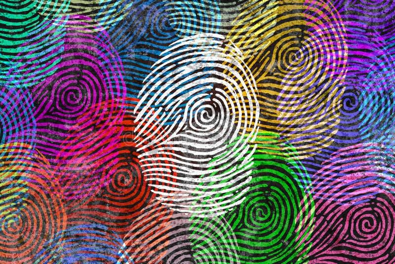 Σύμβολο ταυτότητας ποικιλομορφίας απεικόνιση αποθεμάτων