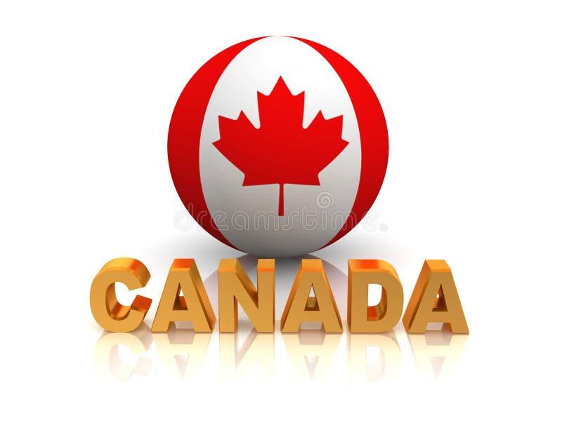 σύμβολο του Καναδά διανυσματική απεικόνιση