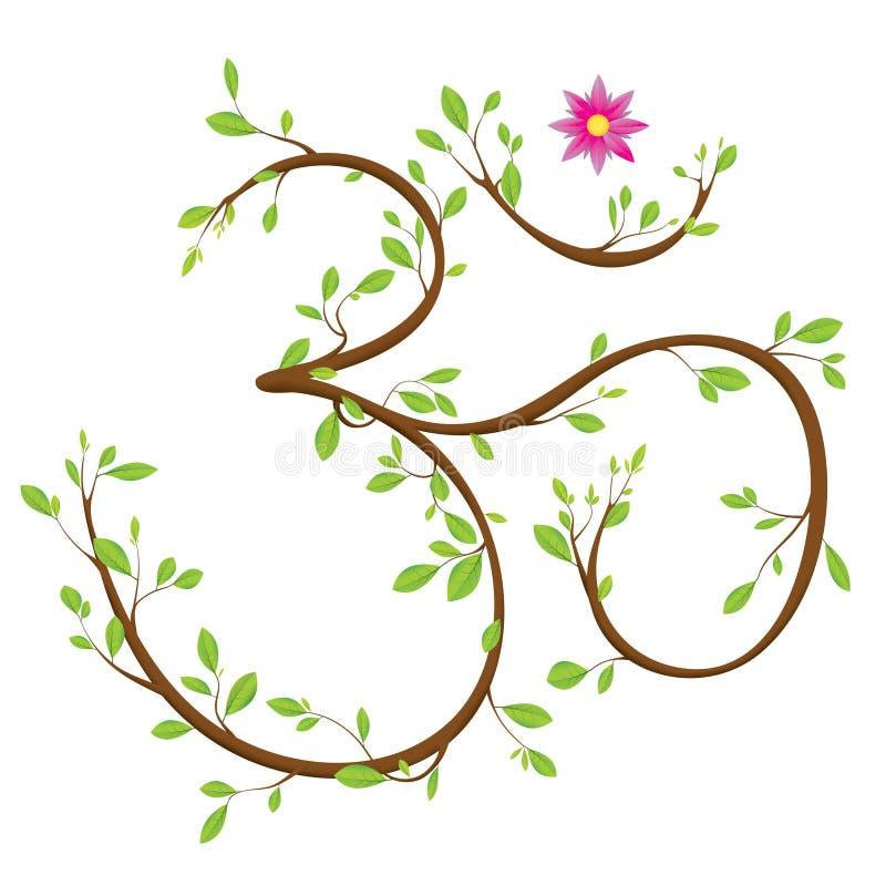 σύμβολο του OM απεικόνιση αποθεμάτων