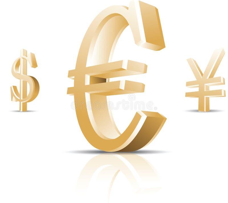 σύμβολο χρημάτων διανυσματική απεικόνιση