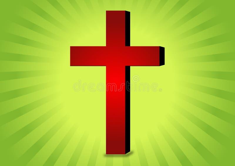 σύμβολο χριστιανισμού διανυσματική απεικόνιση