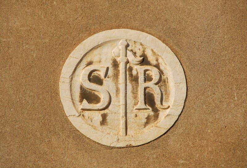 Σύμβολο SAN Rocco στοκ φωτογραφία με δικαίωμα ελεύθερης χρήσης