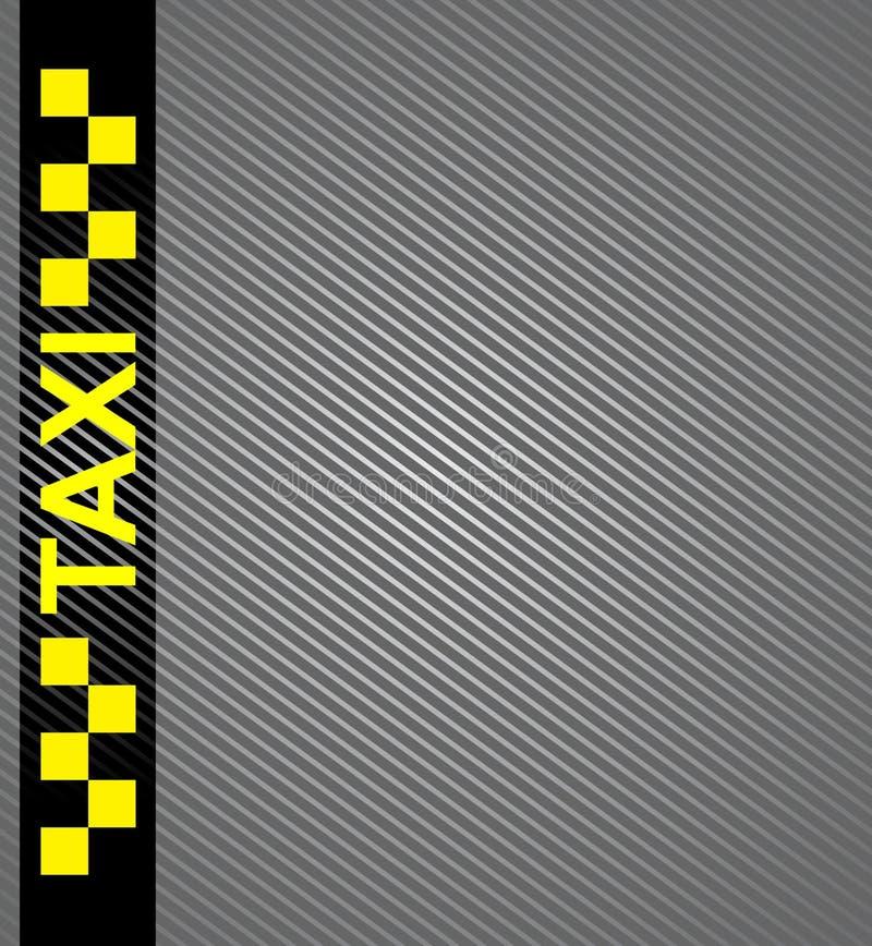 Σύμβολο αμαξιών ταξί διανυσματική απεικόνιση
