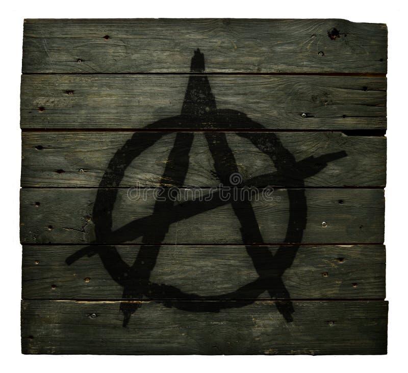 Σύμβολο αναρχίας στοκ φωτογραφία με δικαίωμα ελεύθερης χρήσης