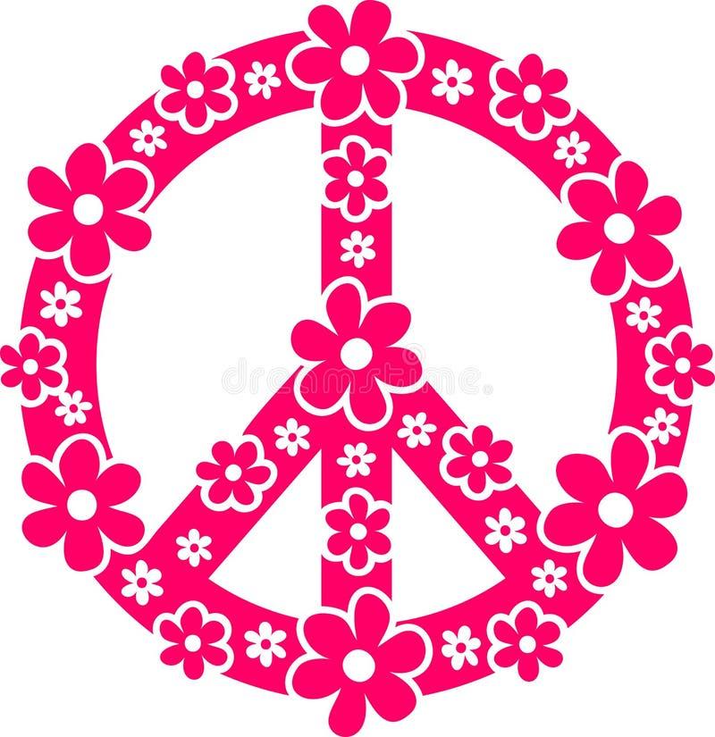 Σύμβολο ειρήνης διανυσματική απεικόνιση
