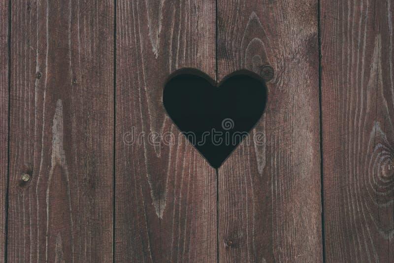 Σύμβολο καρδιών στην πόρτα τουαλετών στοκ εικόνες με δικαίωμα ελεύθερης χρήσης