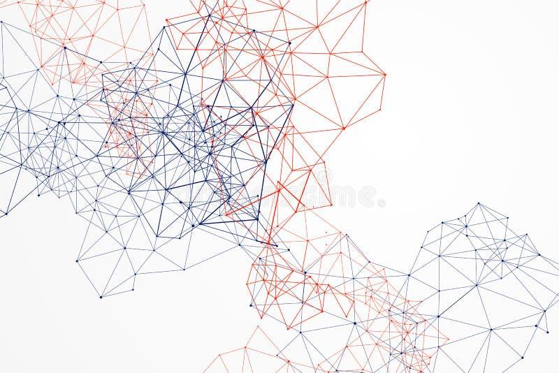 Σύνδεση στο Διαδίκτυο, αφηρημένη αίσθηση της επιστήμης και της τεχνολογίας GR ελεύθερη απεικόνιση δικαιώματος