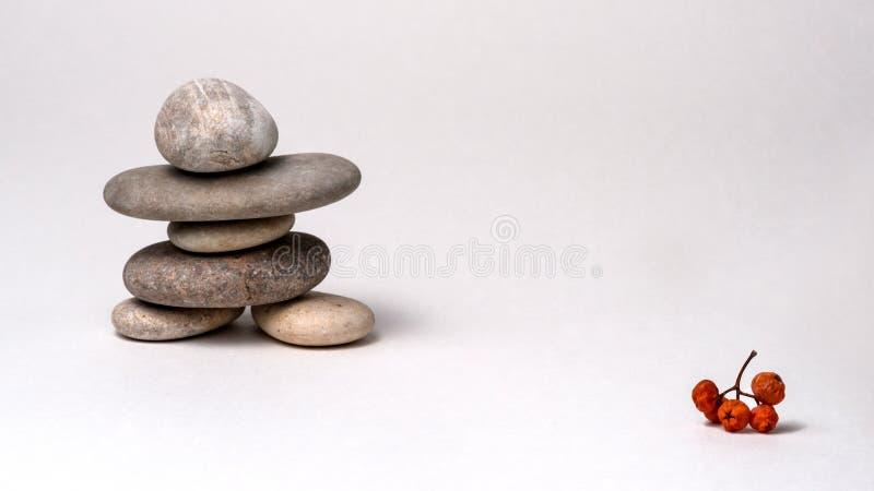 Σύνθεση της Zen ο μόνος Σαμουράι στοκ εικόνες