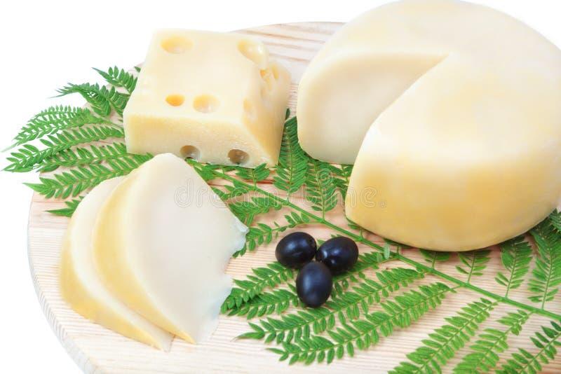 σύνθεση τυριών στοκ εικόνες