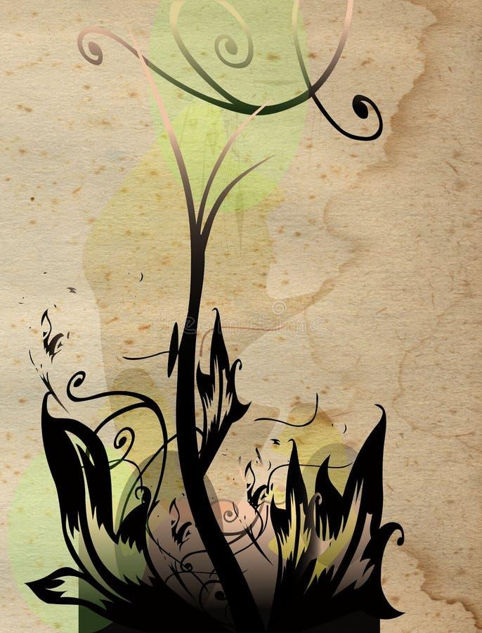 σύνθεση floral διανυσματική απεικόνιση