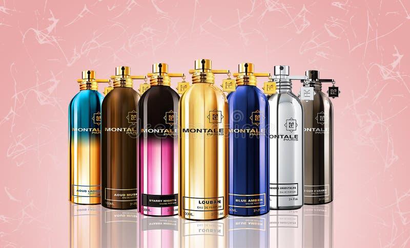 Σύνθεση Parfum στοκ φωτογραφίες με δικαίωμα ελεύθερης χρήσης