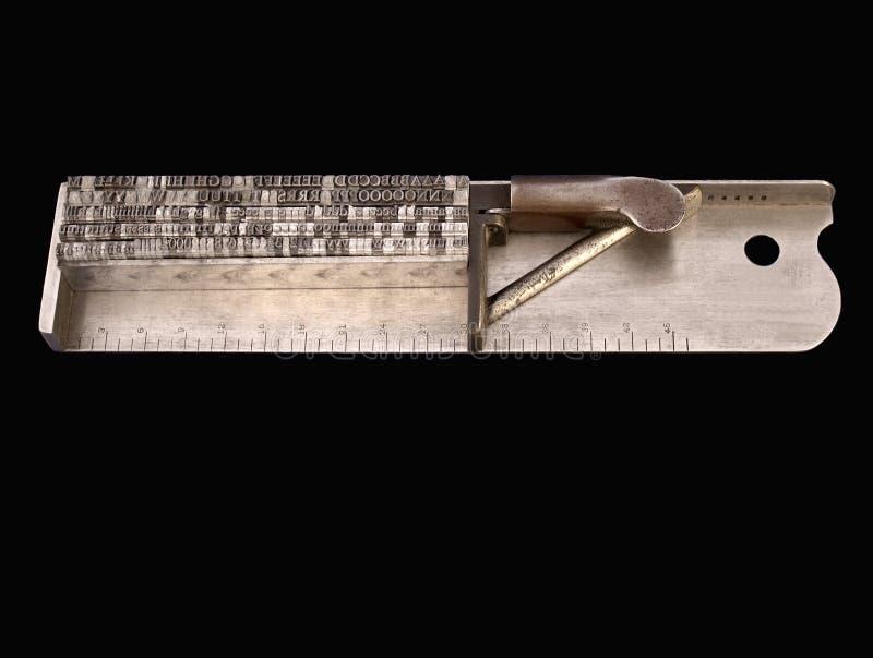 σύνθεση typographer ραβδιών του s στοκ εικόνα με δικαίωμα ελεύθερης χρήσης