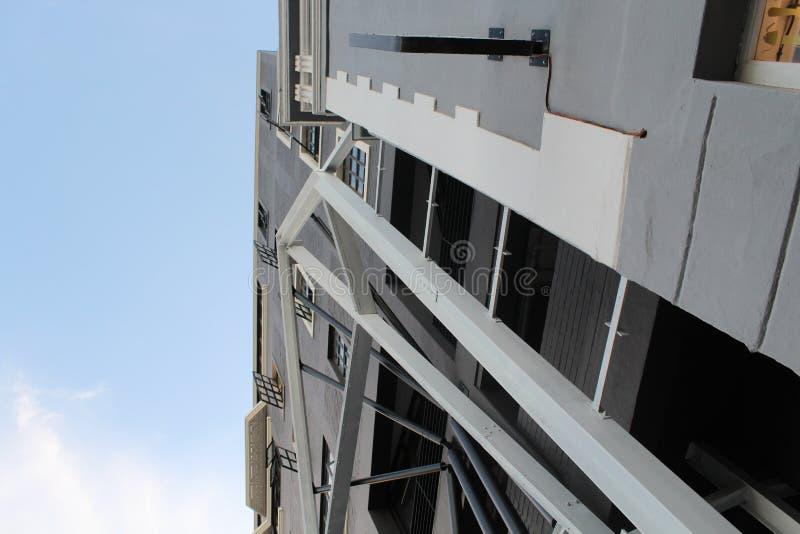 Σύνθετη δομή στην πόλη στοκ φωτογραφίες με δικαίωμα ελεύθερης χρήσης