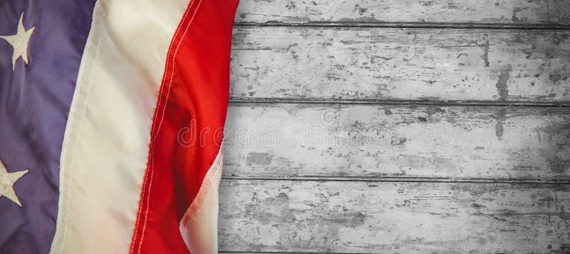 Σύνθετη εικόνα μας σημαία απεικόνιση αποθεμάτων