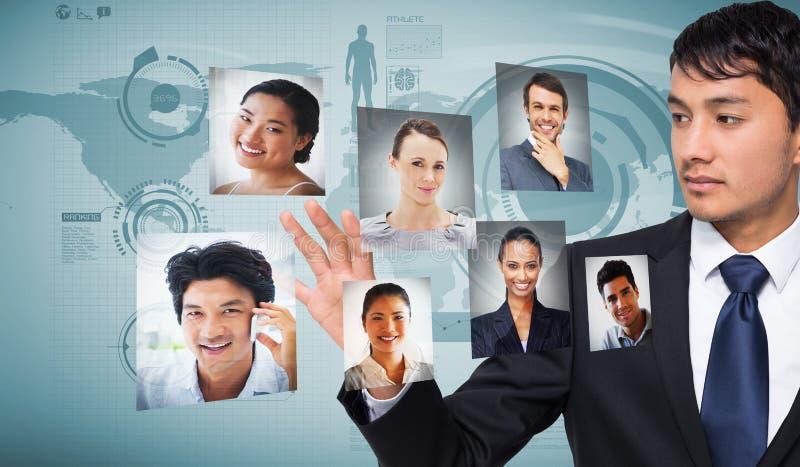 Σύνθετη εικόνα ο επιχειρηματίας σχετικά με στοκ φωτογραφίες με δικαίωμα ελεύθερης χρήσης
