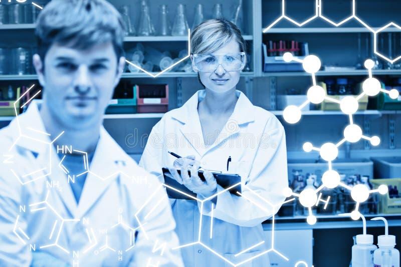 Σύνθετη εικόνα της επιστήμης γραφική στοκ φωτογραφία με δικαίωμα ελεύθερης χρήσης