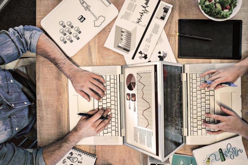 Σύνθετη εικόνα της ιδέας και της καινοτομίας γραφικών στοκ φωτογραφίες με δικαίωμα ελεύθερης χρήσης