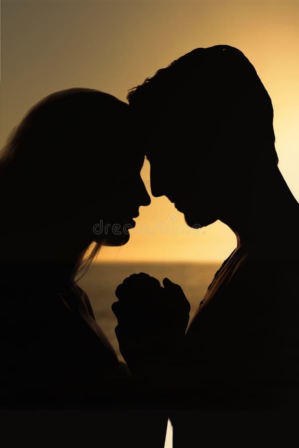 Σύνθετη εικόνα του ηλιοβασιλέματος μιας όμορφης ημέρας στοκ φωτογραφία με δικαίωμα ελεύθερης χρήσης