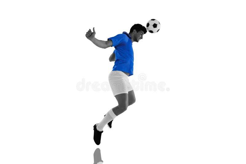 Σύνθετη εικόνα του ποδοσφαιριστή διανυσματική απεικόνιση