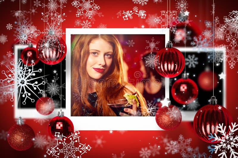 Σύνθετη εικόνα των φωτογραφιών Χριστουγέννων στοκ εικόνες με δικαίωμα ελεύθερης χρήσης