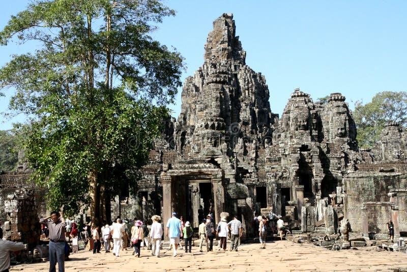 Σύνθετος ναός Watt Angkor στοκ εικόνες