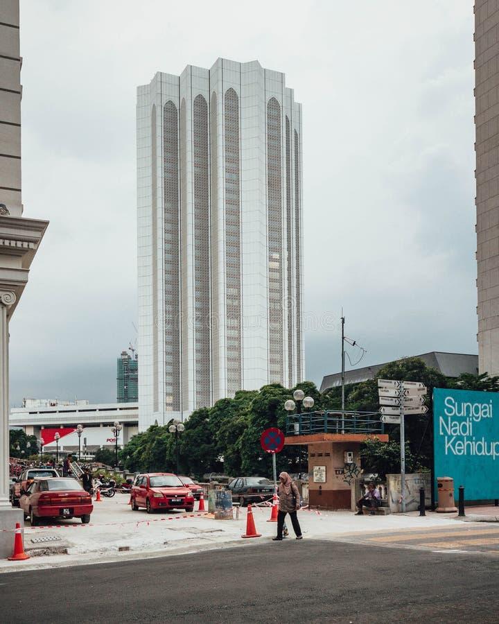 Σύνθετος ο της Μαλαισίας Dayabumi: Το Kompleks Dayabumi είναι ένα σημαντικό ορόσημο στη Κουάλα Λουμπούρ, Μαλαισία στοκ φωτογραφία με δικαίωμα ελεύθερης χρήσης