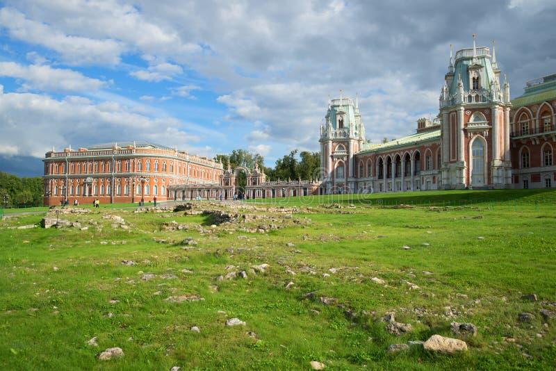 Σύνθετος του μεγάλου παλατιού στη μουσείο-επιφύλαξη στοκ εικόνα με δικαίωμα ελεύθερης χρήσης