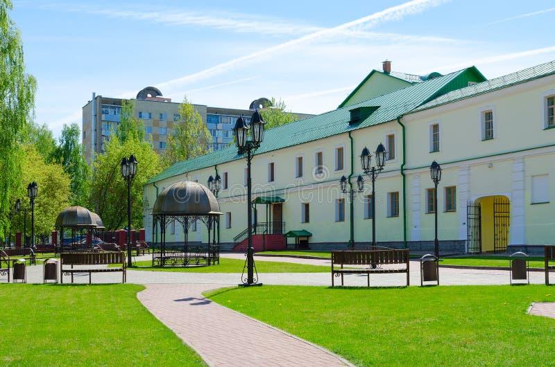 Σύνθετος των κτηρίων προηγούμενο collegium Jesuit, Polotsk, Λευκορωσία στοκ εικόνες