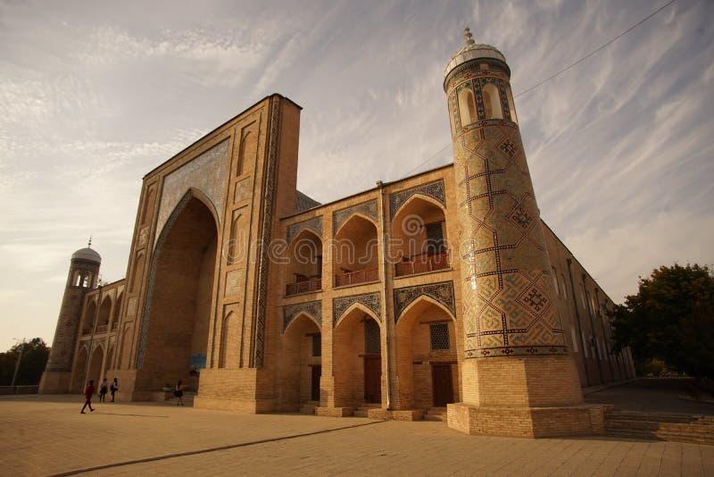 Σύνθετο Ισλάμ αρχιτεκτονικής της Τασκένδης Ουζμπεκιστάν Ασία μιναρών μουσουλμανικών τεμενών ιμαμών Hazrati medres στοκ εικόνα με δικαίωμα ελεύθερης χρήσης