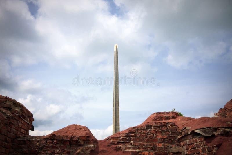 σύνθετο μνημείο στοκ εικόνες