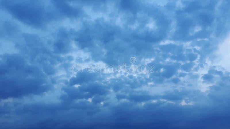 Σύννεφα βαμβακιού στοκ φωτογραφίες