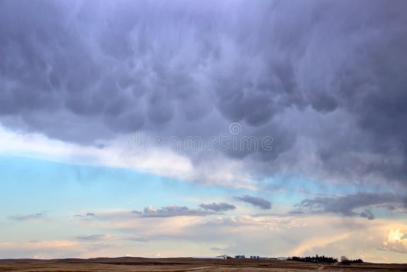 Σύννεφα θύελλας λιβαδιών στοκ φωτογραφίες με δικαίωμα ελεύθερης χρήσης