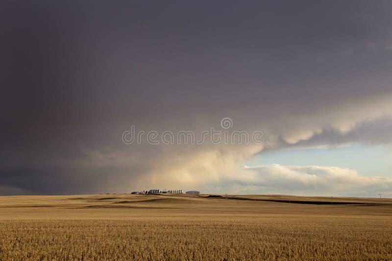 Σύννεφα θύελλας λιβαδιών στοκ εικόνες