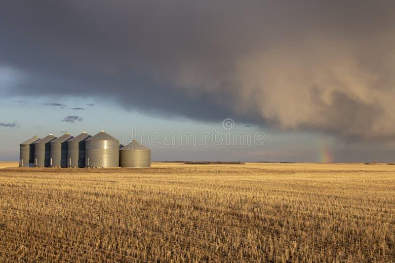 Σύννεφα θύελλας λιβαδιών στοκ εικόνα με δικαίωμα ελεύθερης χρήσης