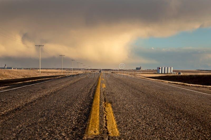 Σύννεφα θύελλας λιβαδιών στοκ φωτογραφία με δικαίωμα ελεύθερης χρήσης