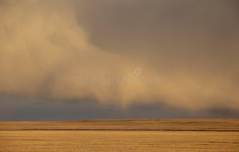 Σύννεφα θύελλας λιβαδιών στοκ εικόνες με δικαίωμα ελεύθερης χρήσης