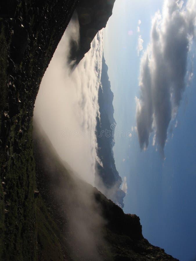 σύννεφα Καύκασου στοκ εικόνες