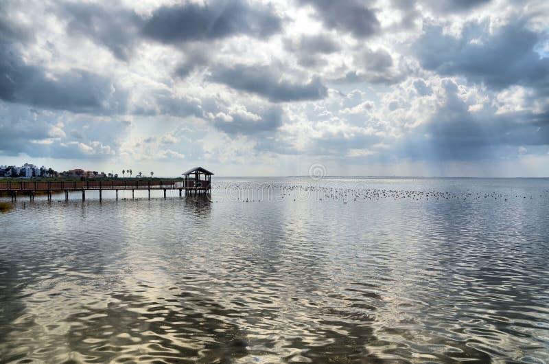 σύννεφα κόλπων δραματικά στοκ εικόνες με δικαίωμα ελεύθερης χρήσης