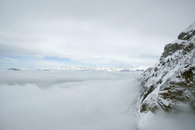 σύννεφα ορών στοκ εικόνες με δικαίωμα ελεύθερης χρήσης