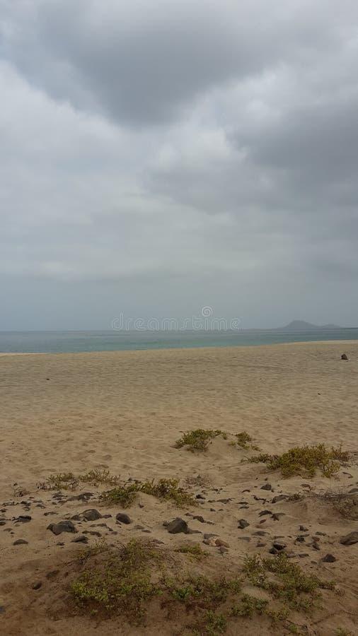 Σύννεφα πέρα από το Πράσινο Ακρωτήριο στοκ εικόνες