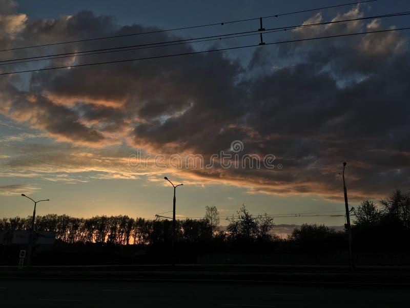 Σύννεφα πετρελαίου στοκ φωτογραφία με δικαίωμα ελεύθερης χρήσης