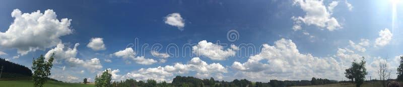 Σύννεφα στην Τσεχία στοκ εικόνα με δικαίωμα ελεύθερης χρήσης