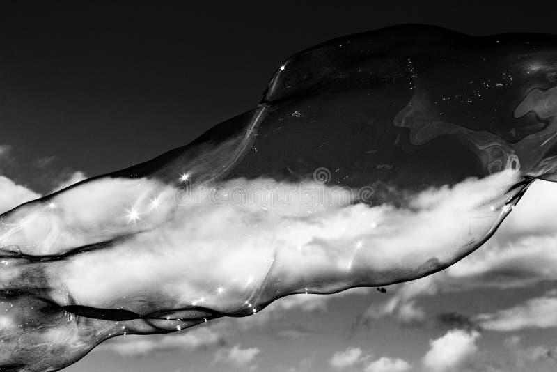 Σύννεφα φυσαλίδων στοκ φωτογραφία
