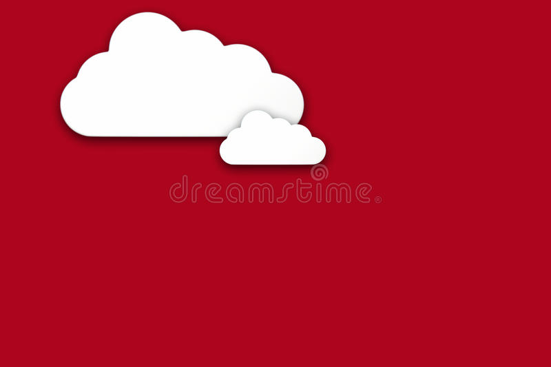 Σύννεφα ελεύθερη απεικόνιση δικαιώματος