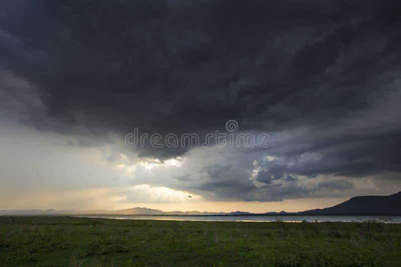 Σύννεφο βροχής στοκ εικόνες